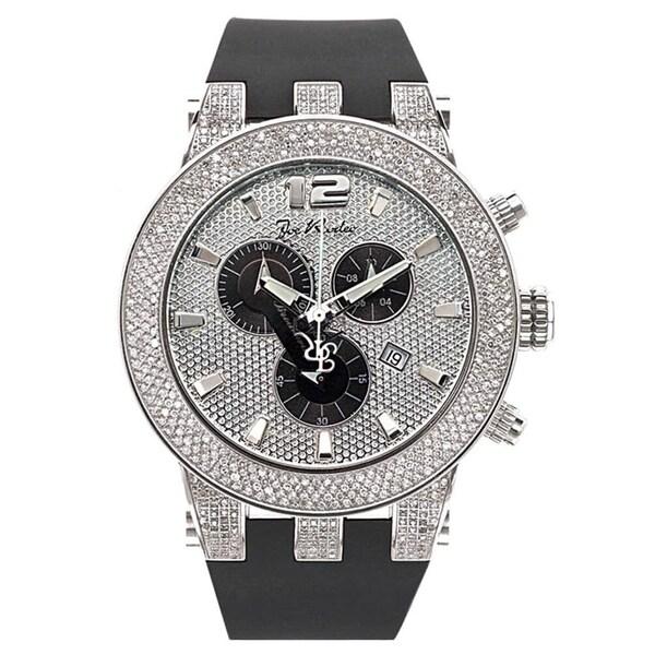Joe Rodeo Men's Diamond Watch Genuine Diamonds, 45 mm size case Model BROADWAY. Opens flyout.