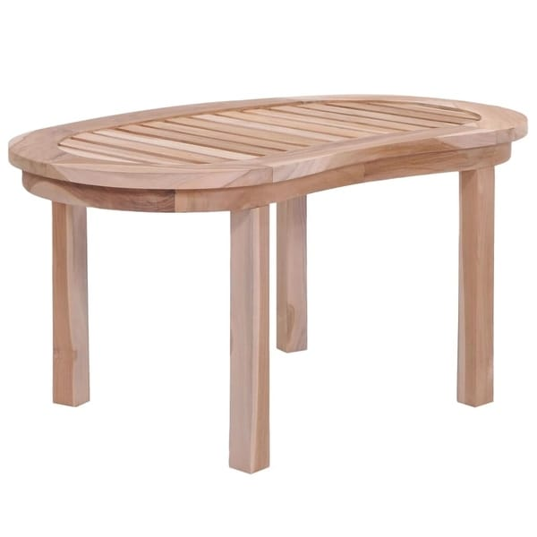 "Coffee Table Solid Teak 35.4""x19.7""x17.7"""