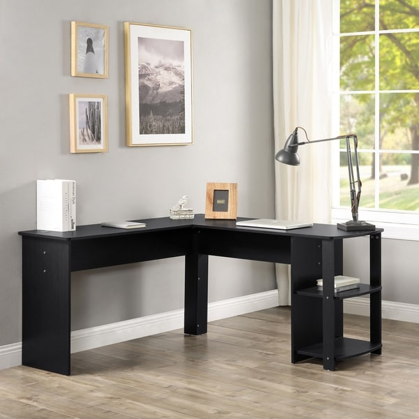 L-Shapped Home Office Desk
