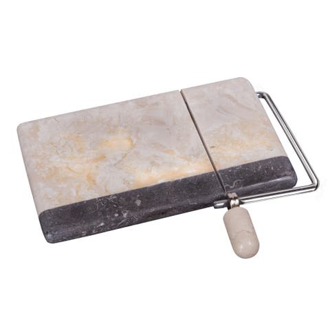 Creative Home Genuine 2 Tone Marble Cheese Slicer Cutter