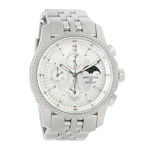 Breitling Men's P1936212-G629-996A 'Bentley Motors Mark VI Complications' Chronograph Stainless Steel Watch