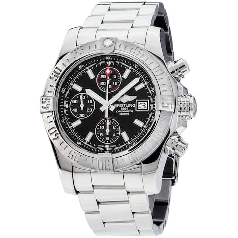 Breitling Men's A1338111-BC32-170A 'Avenger II' Chronograph Stainless Steel Watch