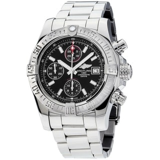 Link to Breitling Men's A1338111-BC32-170A 'Avenger II' Chronograph Stainless Steel Watch Similar Items in Men's Watches