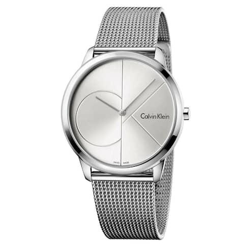 Calvin Klein Men's K3M2112Z 'Minimal' Stainless Steel Watch