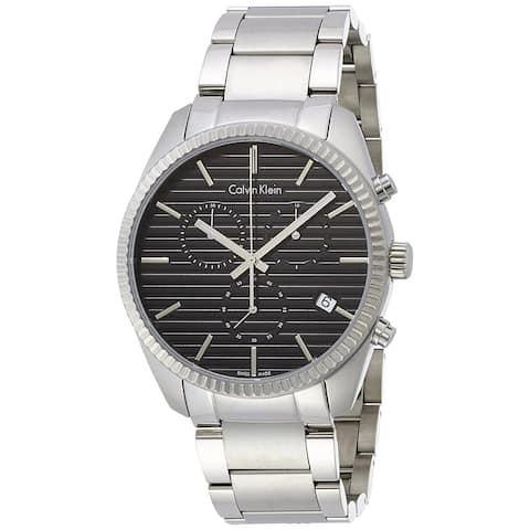 Calvin Klein Men's K5R37141 'Alliance' Chronograph Stainless Steel Watch