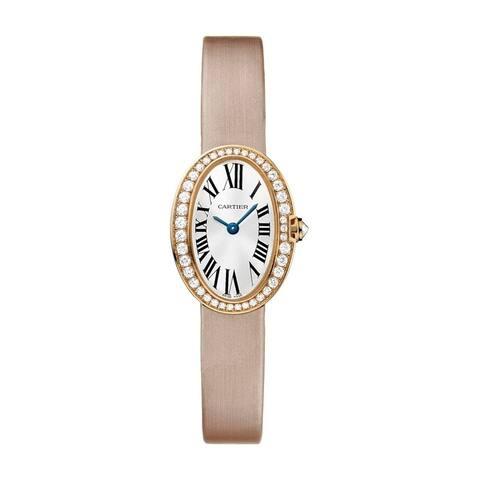 Cartier Women's WB520028 'Baignoire' Beige Synthetic Watch