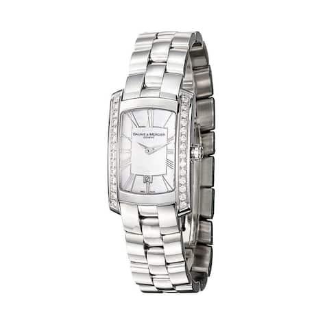 Baume & Mercier Women's MOA08745 'Hampton' Stainless Steel Watch