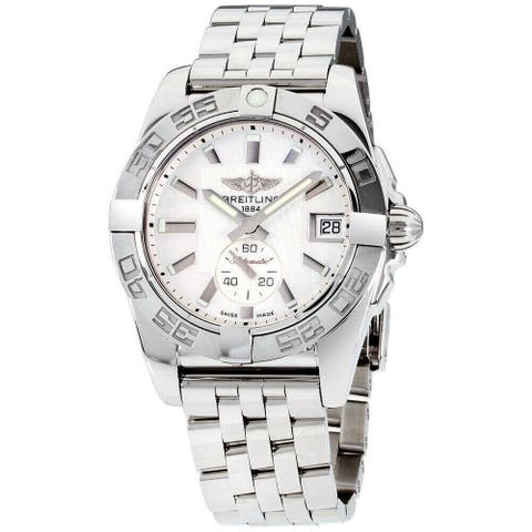 Breitling Women's A3733012-A716-376A 'Galactic' Stainless Steel Watch