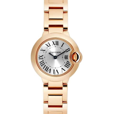 Cartier Women's W69002Z2 'Ballon Bleu' Rose Gold-Tone Stainless Steel Watch