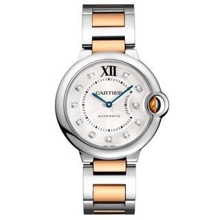 Cartier Women's WE902044 'Ballon Bleu' Diamonds Two-Tone Stainless Steel Watch