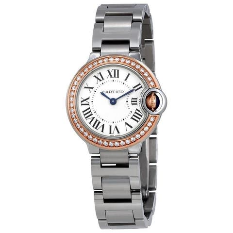Cartier Women's WE902079 'Ballon Bleu' Stainless Steel Watch