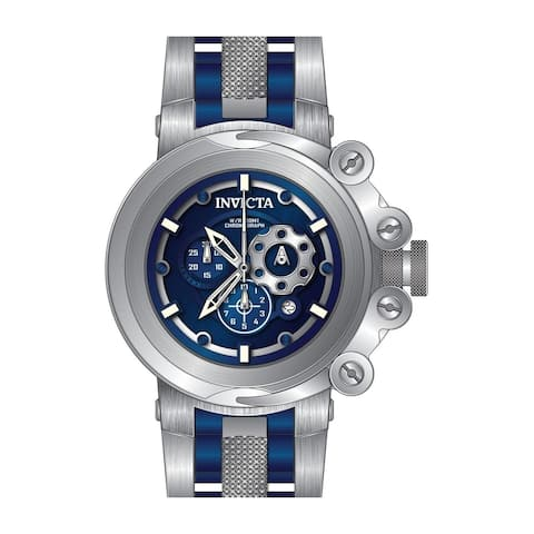 Invicta Men's 28403 'Coalition Forces' Blue Stainless Steel Watch