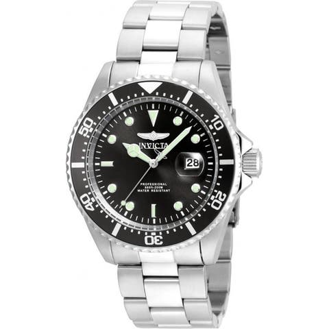Invicta Men's 22047 'Pro Diver' Stainless Steel Watch