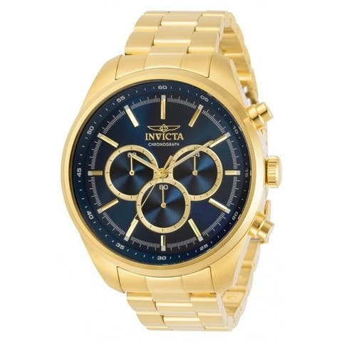 Invicta Men's 30979 'Specialty' Gold-Tone Stainless Steel Watch