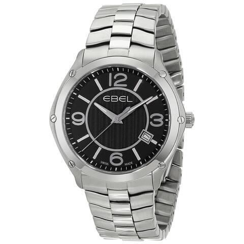 Ebel Men's 1216176 'Sport' Stainless Steel Watch