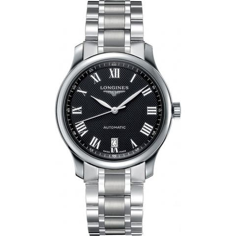 Longines Men's L2.628.4.51.6 'Master' Stainless Steel Watch