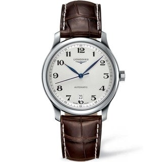 Link to Longines Men's L2.628.4.78.3 'Master Collection' Brown Leather Watch Similar Items in Men's Watches
