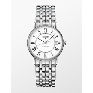 Link to Longines Men's L4.821.4.11.6 'Presence' Stainless Steel Watch Similar Items in Men's Watches