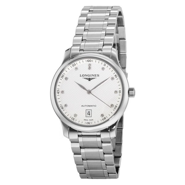 Longines Men's L2.628.4.77.6 'Master Collection' Stainless Steel Watch. Opens flyout.