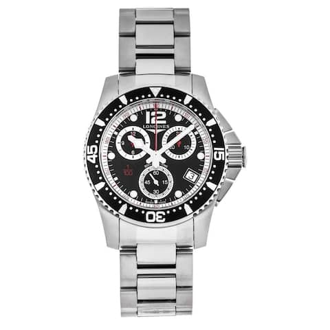 Longines Men's L3.743.4.56.6 'HydroConquest' Chronograph Stainless Steel Watch