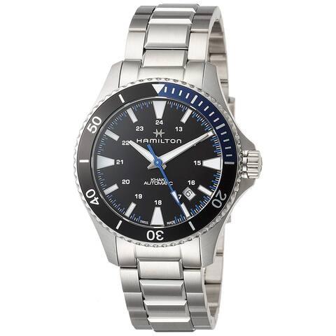 Hamilton Men's H82315131 'Khaki Scuba Automatic' Automatic Stainless Steel Watch
