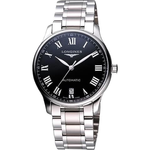 Longines Men's L26284516 'Master' Automatic Stainless Steel Watch