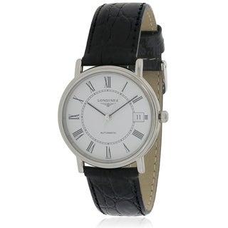 Link to Longines Men's L48214112 'La Grande Classique' Black Leather Watch Similar Items in Men's Watches