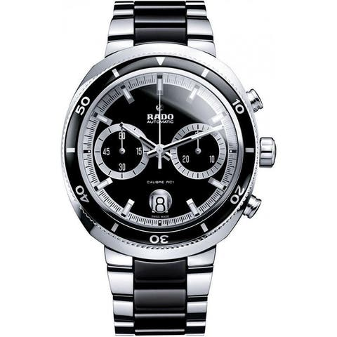 Rado Men's R15965152 'D Star' Chronograph Two-Tone Stainless Steel Watch