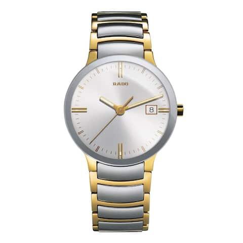 Rado Men's R30931103 'Centrix' Two-Tone Stainless Steel Watch