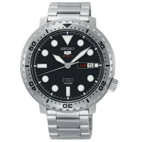 Seiko Men's SRPC61J1 'Sports' Stainless Steel Watch