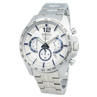 Link to Seiko Men's SSB343 'Conceptual' Chronograph Stainless Steel Watch Similar Items in Men's Watches