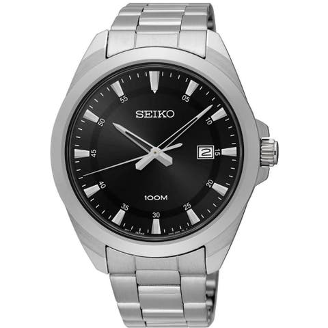 Seiko Men's SUR209 'Neo Classic' Stainless Steel Watch
