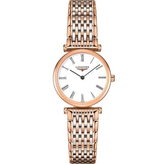 Link to Longines Women's L4.209.1.91.7 'Le Grande Classique' Two-Tone Stainless Steel Watch Similar Items in Women's Watches