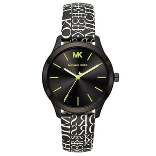 Link to Michael Kors Women's MK2847 'Runway' Two-Tone Leather Watch Similar Items in Women's Watches