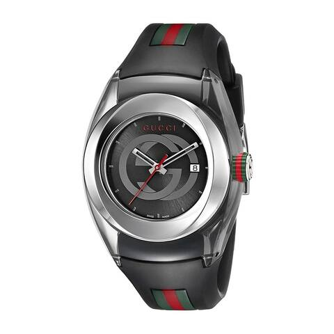Gucci Unisex YA137301 'Sync' Multicolored Rubber Watch