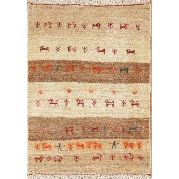 Shop Tribal Gabbeh Shiraz Persian Area Rug Handmade Oriental