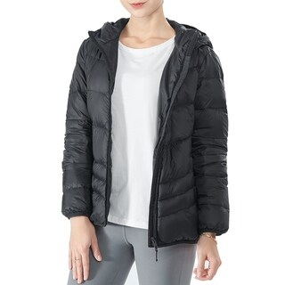 Link to Women's Heated Down Jacket Hooded Puffer Winter Coat Black Similar Items in Women's Outerwear