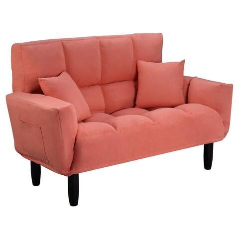 Carson Carrington Gillastig Plush Tufted Sofa