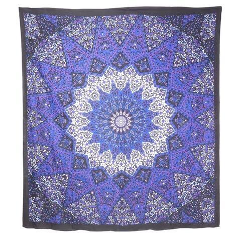 Bohemian Cotton Tapestry Mandala Wall Hanging Hippie Decorative Bedspread Dorm Décor