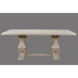 "Link to Maliyah Pedestal Dining Table 96"" - 30"" H x 96"" W x 42"" D Similar Items in Dining Room & Bar Furniture"