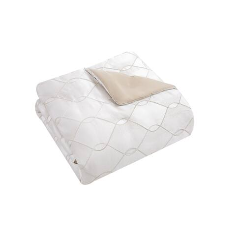Silver Orchid Byron Lux Comforter Set