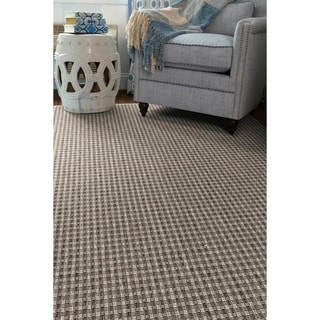 Shores Sea Grey Indoor/Outdoor Flat-Weave Rug