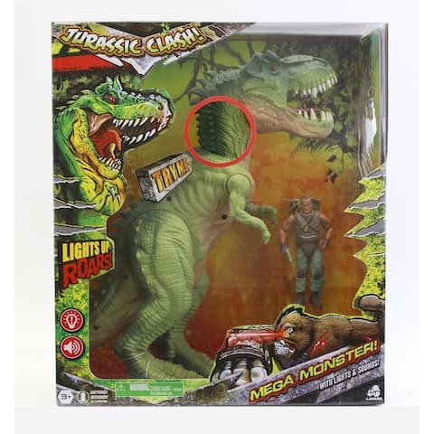 Jurassic Clash Mega Monster! Dino Set