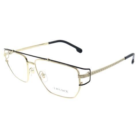 Versace VE 1257 1436 55mm Unisex Gold Frame Eyeglasses 55mm