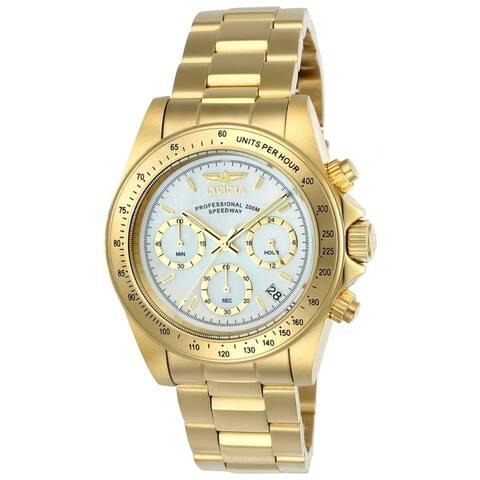 Invicta Men's Speedway 24770 Gold Watch