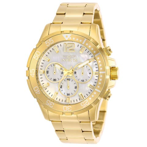 Invicta Men's Pro Diver 29460 Gold Watch