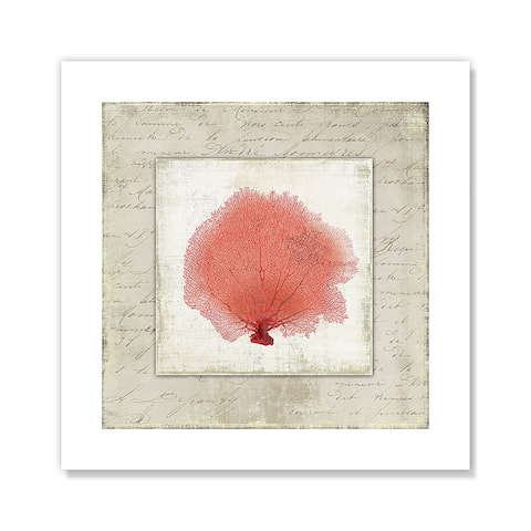 Coral Linen I - Red