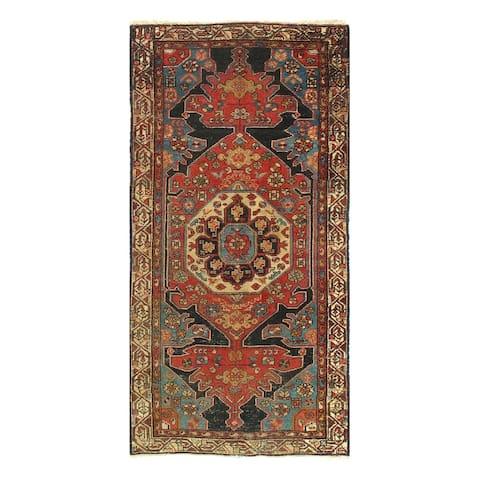 Pasargad DC Multi-color Persian Antique Hamdan - 3' x 6'5''