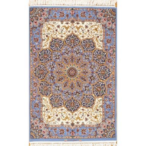 Pasargad DC Persian Isfahan Silk & Wool - 3' x 5'