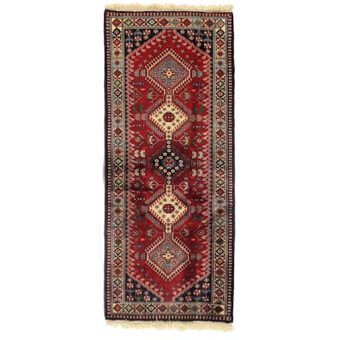 "Pasargad DC Red Persian Yalameh - 2'8"" x 6'3"""